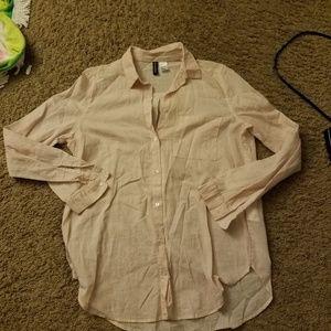 Pink Stripe HM Shirt